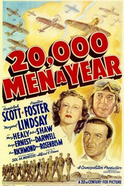 Caratula, cartel, poster o portada de 20,000 Men a Year