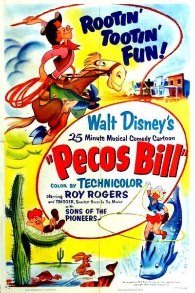 Caratula, cartel, poster o portada de Pecos Bill