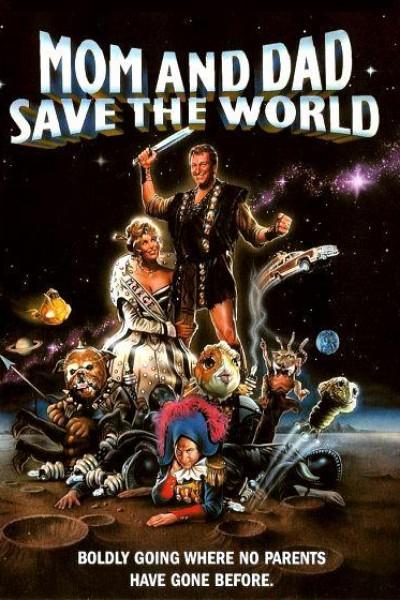 Caratula, cartel, poster o portada de Mamá y papá salvaron al mundo