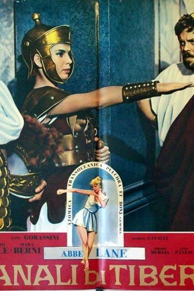 Caratula, cartel, poster o portada de I baccanali di Tiberio