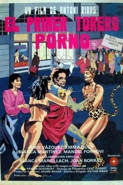 Caratula, cartel, poster o portada de El primer torero porno