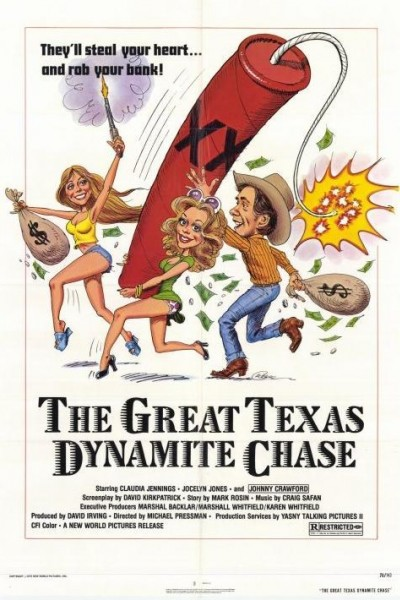 Caratula, cartel, poster o portada de The Great Texas Dynamite Chase
