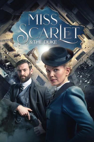 Caratula, cartel, poster o portada de Miss Scarlet and the Duke