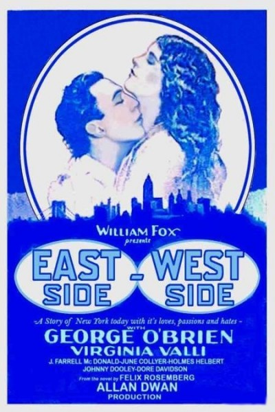 Caratula, cartel, poster o portada de East Side, West Side