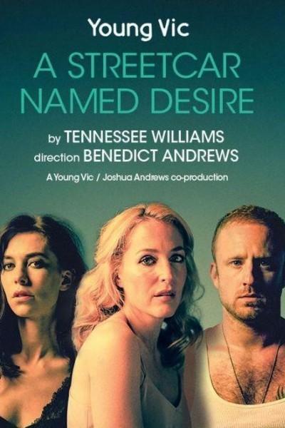 Caratula, cartel, poster o portada de National Theatre Live: Un tranvía llamado Deseo