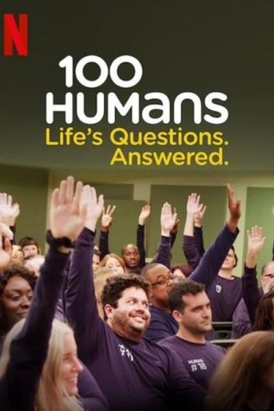 Caratula, cartel, poster o portada de 100 humanos