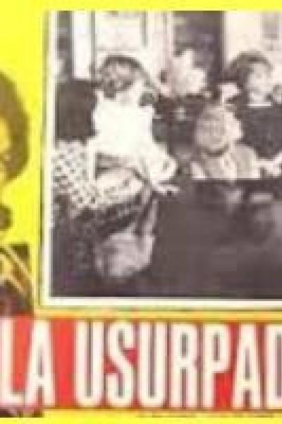 Caratula, cartel, poster o portada de La usurpadora