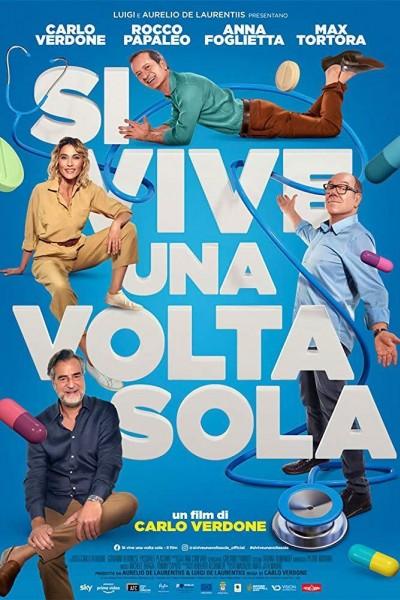 Caratula, cartel, poster o portada de Si vive una volta sola