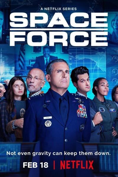 Caratula, cartel, poster o portada de Space Force