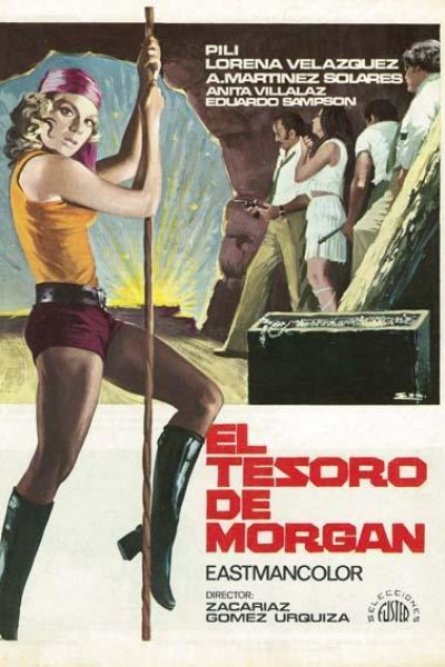 Caratula, cartel, poster o portada de El tesoro de Morgan