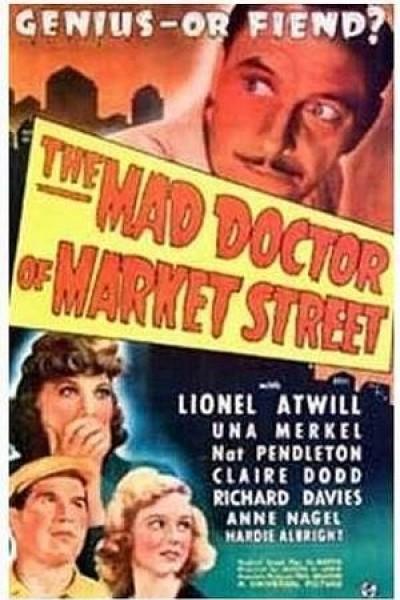 Caratula, cartel, poster o portada de El médico loco