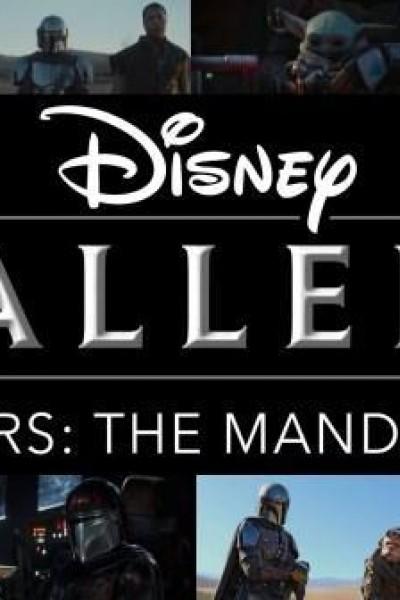 Caratula, cartel, poster o portada de Disney Gallery: The Mandalorian