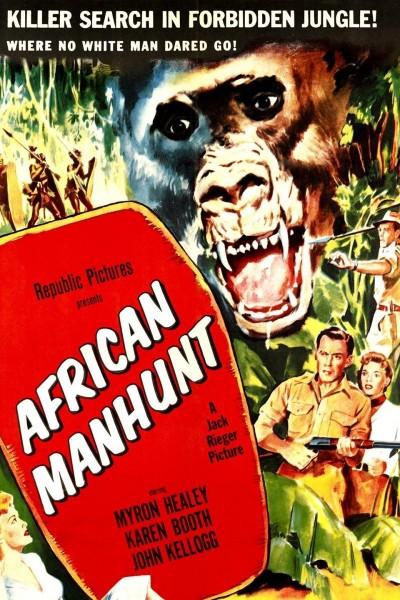 Caratula, cartel, poster o portada de African Manhunt