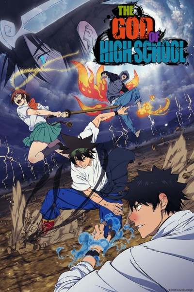 Caratula, cartel, poster o portada de The God of High School