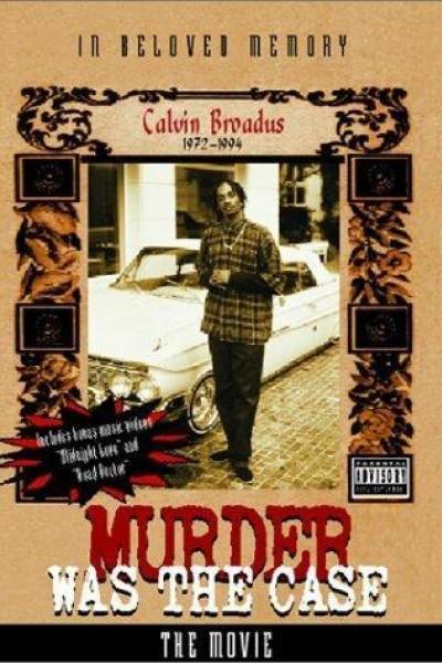 Caratula, cartel, poster o portada de Snoop Dogg: Murder Was the Case