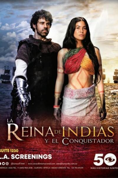 Caratula, cartel, poster o portada de La reina de Indias y el conquistador