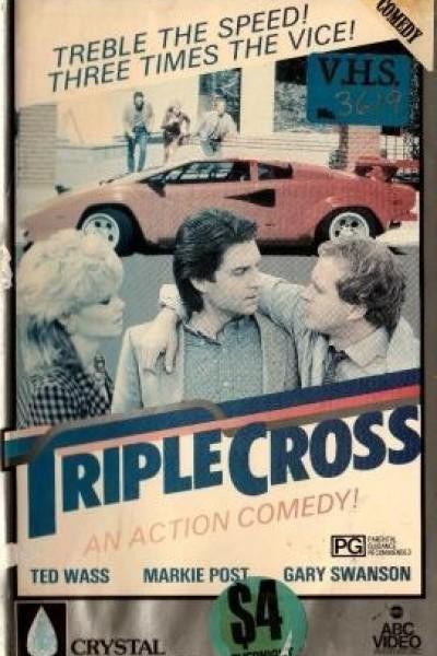 Caratula, cartel, poster o portada de El triplecross USA