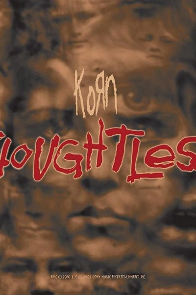 Caratula, cartel, poster o portada de Korn: Thoughtless