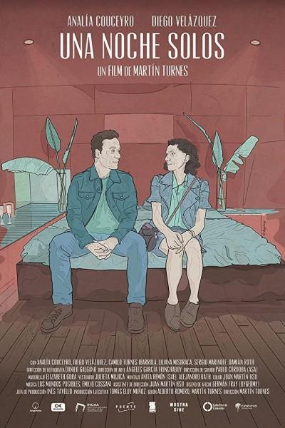 Caratula, cartel, poster o portada de Una noche solos