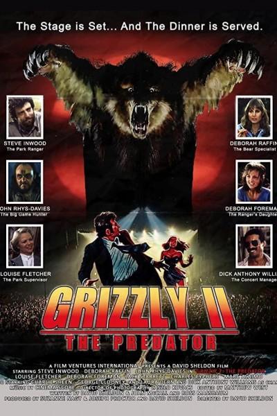 Caratula, cartel, poster o portada de Grizzly II: El concierto