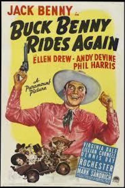 Caratula, cartel, poster o portada de Buck Benny Rides Again
