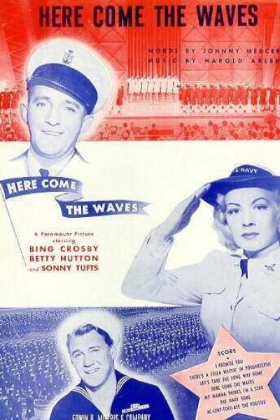 Caratula, cartel, poster o portada de Here Come the Waves