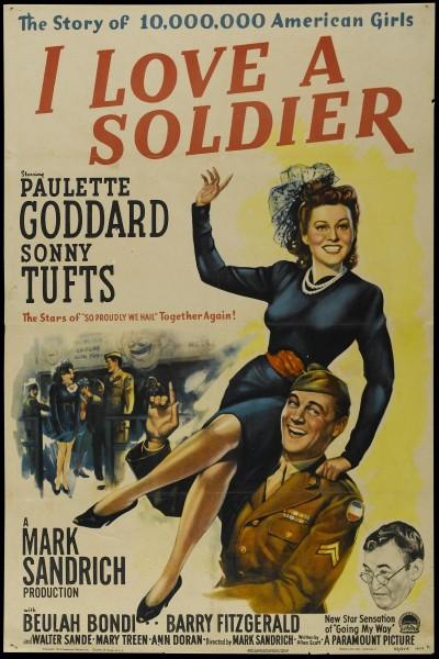 Caratula, cartel, poster o portada de I Love a Soldier
