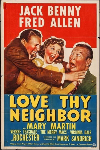 Caratula, cartel, poster o portada de Love Thy Neighbor