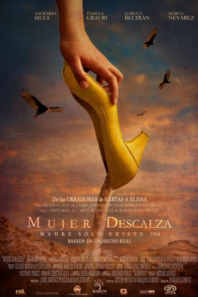 Caratula, cartel, poster o portada de Mujer descalza
