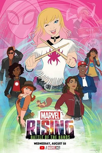 Caratula, cartel, poster o portada de Marvel Rising: La batalla de las bandas