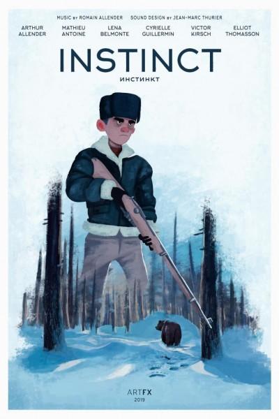 Caratula, cartel, poster o portada de Instinct
