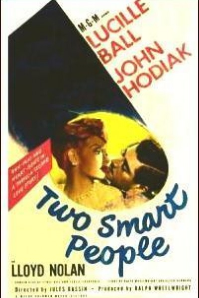 Caratula, cartel, poster o portada de Two Smart People