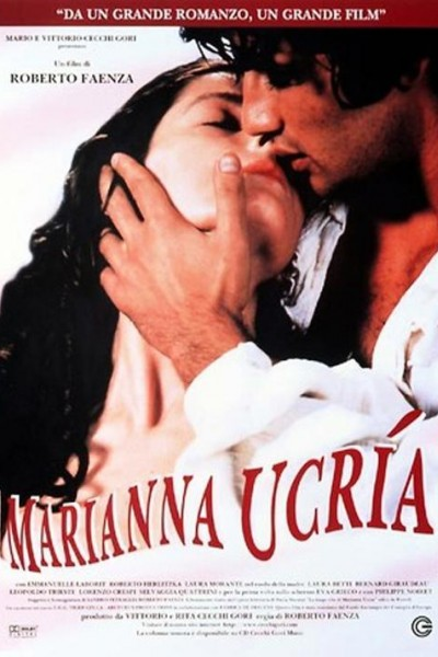 Caratula, cartel, poster o portada de Marianna Ucrìa