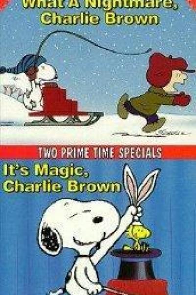 Caratula, cartel, poster o portada de ¡Qué pesadilla, Charlie Brown!
