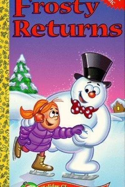 Caratula, cartel, poster o portada de Frosty regresa