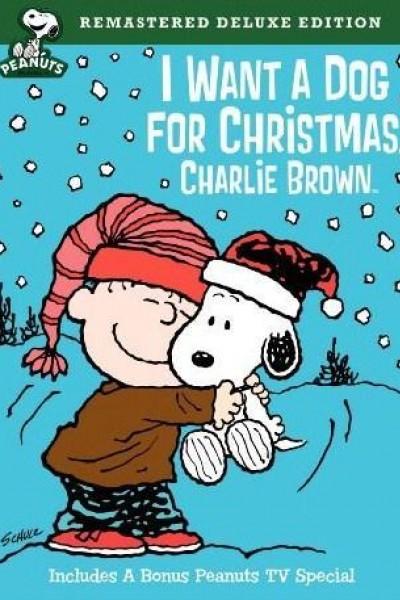 Caratula, cartel, poster o portada de Quiero un perro para Navidad, Charlie Brown
