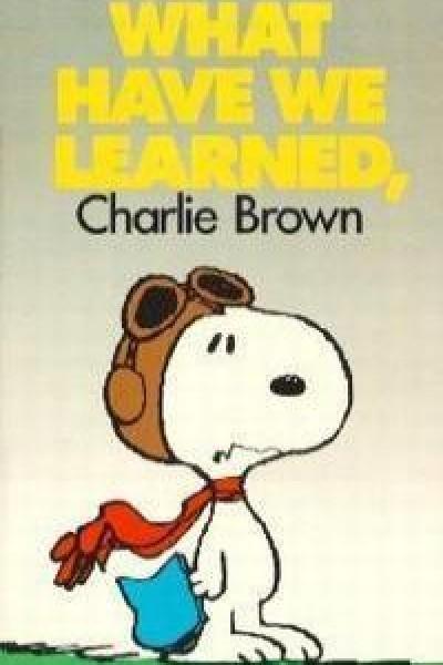 Caratula, cartel, poster o portada de ¿Qué hemos aprendido, Charlie Brown?
