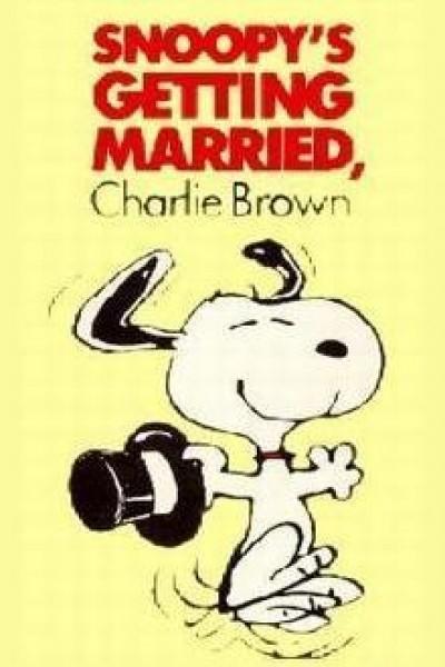 Caratula, cartel, poster o portada de Snoopy está por casarse, Charlie Brown
