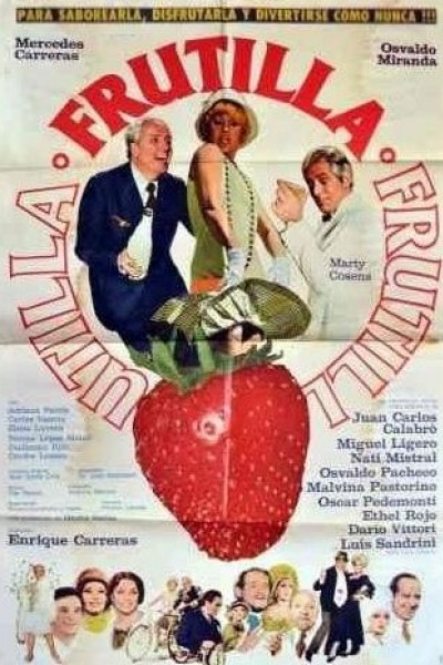 Caratula, cartel, poster o portada de Frutilla