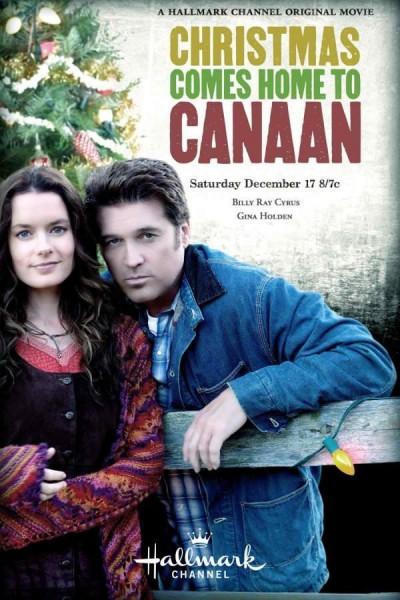 Caratula, cartel, poster o portada de La Navidad vuelve a Canaan