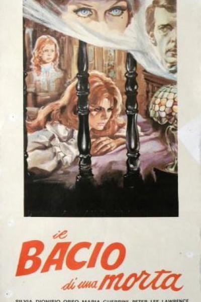 Caratula, cartel, poster o portada de El beso de una muerta