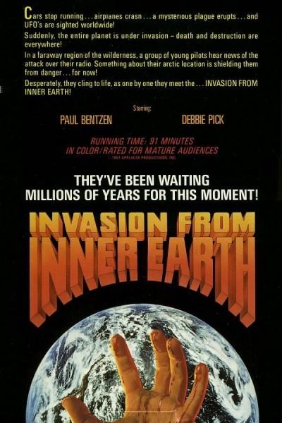 Caratula, cartel, poster o portada de Invasión desde el centro de la Tierra