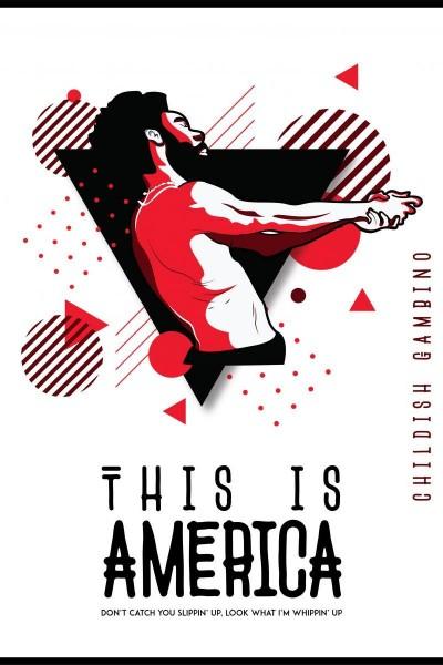 Caratula, cartel, poster o portada de Childish Gambino: This Is America