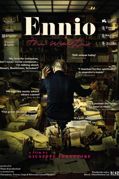 Caratula, cartel, poster o portada de Ennio: The Maestro