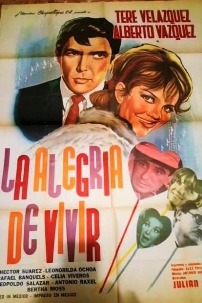 Caratula, cartel, poster o portada de La alegría de vivir