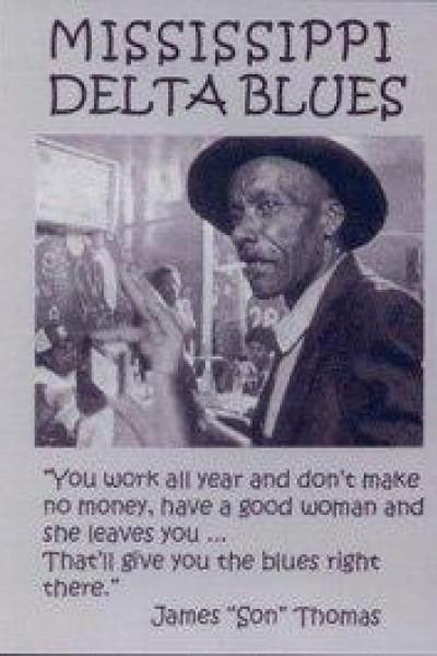 Caratula, cartel, poster o portada de Mississippi Delta Blues