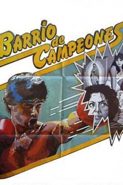 Caratula, cartel, poster o portada de Barrio de campeones