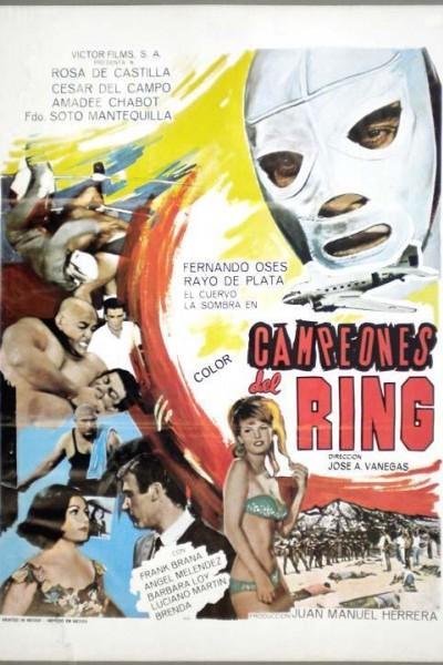 Caratula, cartel, poster o portada de Campeones del ring