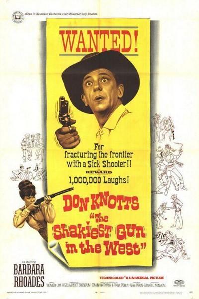 Caratula, cartel, poster o portada de El pistolero más tembloroso del Oeste