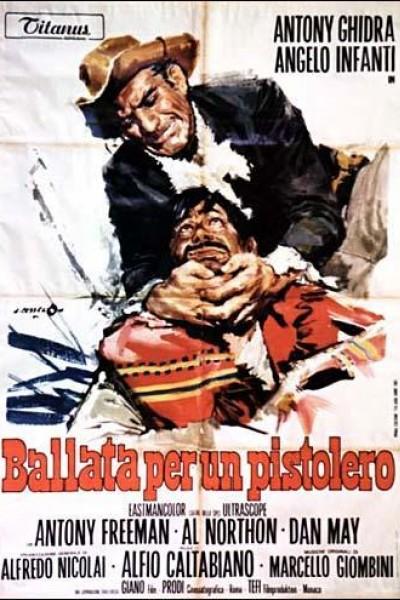 Caratula, cartel, poster o portada de Balada de un pistolero